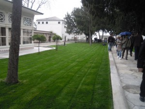 Topkapı Sarayı Revan Köşkü.İSTANBUL